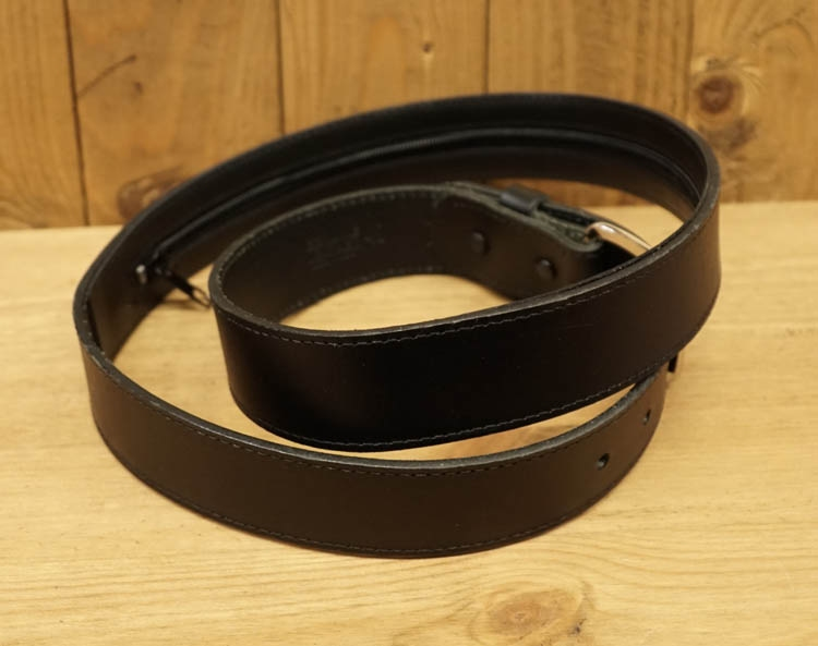 "Buckle moneybelt  "" Zwart """