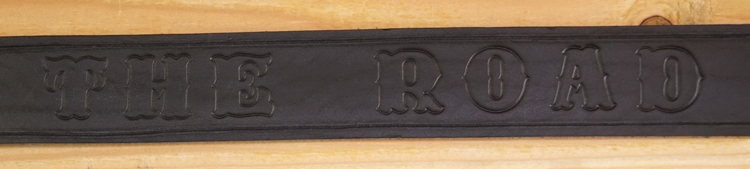 "Buckle riem ""  King of the Road ""  vrachtwagen  Zwart"