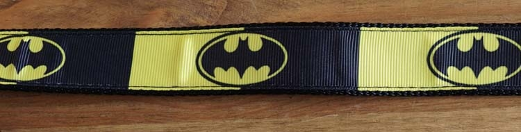 "Canvas hond leiband  "" Batman """