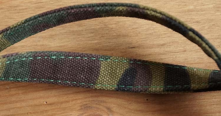 """Canvas hond leiband  """" Camouflage """""""
